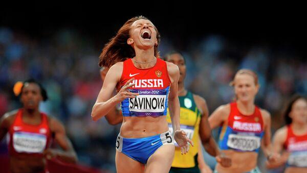 Россиянка Мария Савинова. Архивное фото