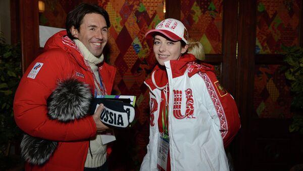 Телеведущий Андрей Малахов и актриса Марина Александрова
