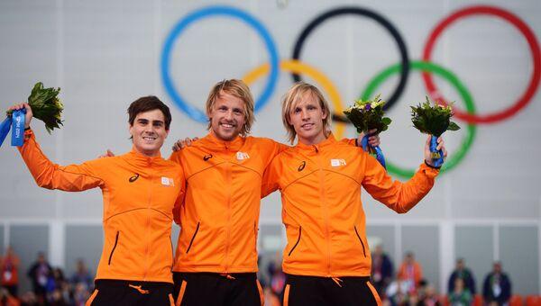 Ян Смеекенс (Нидерланды), Мишель Мюлдер (Нидерланды) и Роналд Мюлдер (Нидерланды)