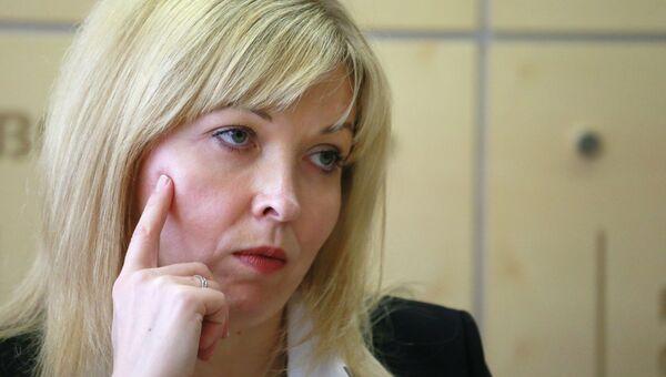 Глава Федеральной службы государственной регистрации, кадастра и картографии (Росреестра) Наталья Антипина, архивное фото