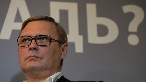 Председатель Российского народно-демократического союза Михаил Касьянов