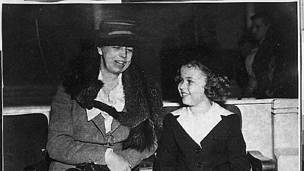 Элеонора Рузвельт и Ширли Темпл, июль 1938