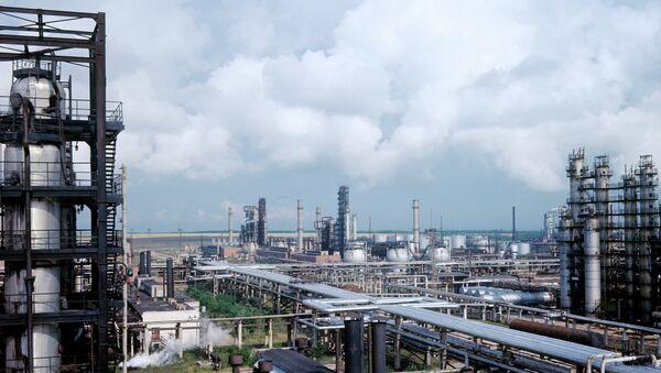 Панорама Рязанского нефтеперерабатывающего завода