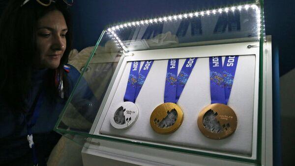 Медали XXII зимних Олимпийских игр в Сочи. Архивное фото