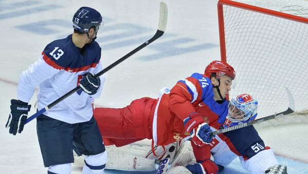Олимпиада 2014. Хоккей. Мужчины. Россия - Словакия