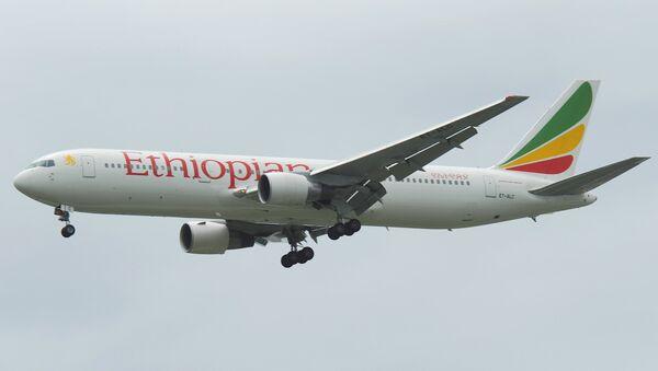 Лайнер авиакомпании Ethiopian Airlines. Архивное фото