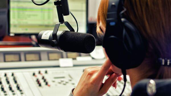 Радиостудия. Архивное фото