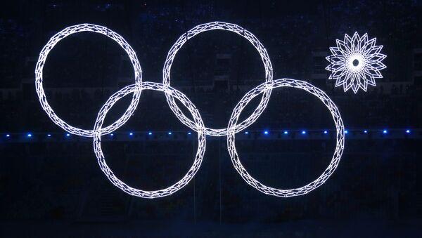 Церемония открытия XXII зимних Олимпийских игр