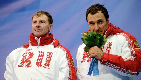Олимпиада 2014. Бобслей. Мужчины. Двойки. Второй день