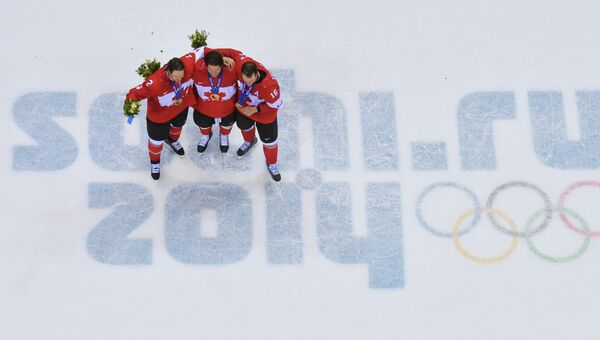 Олимпиада 2014. Хоккей. Мужчины. Финальный матч