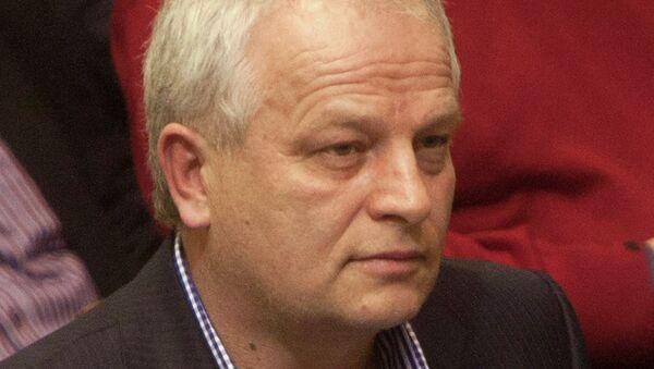 Степан Кубив на заседании Верховный рады Украины
