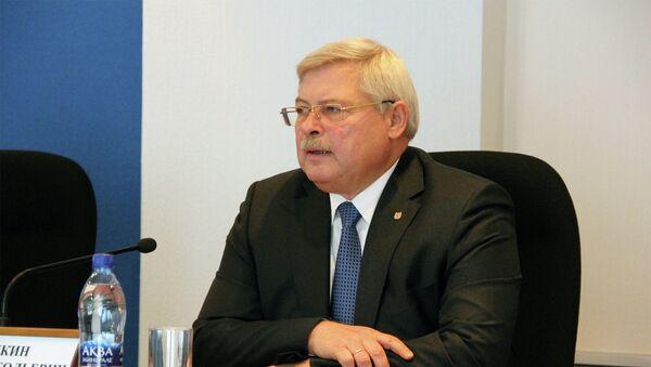 Губернатор Томской области Сергей Жвачкин. Архивное фото