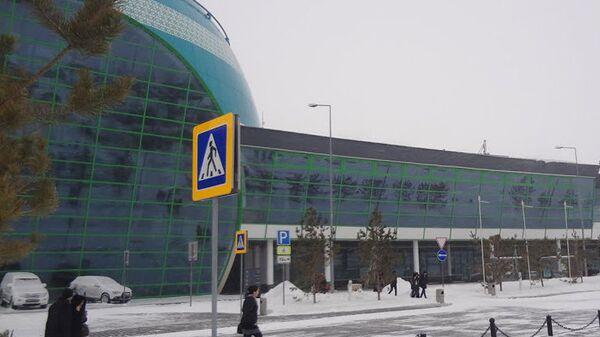 Аэропорт в столице Казахстана