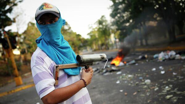 Беспорядки в Каракасе. 27 февраля 2014