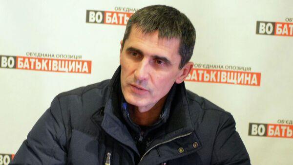Депутат от фракции Батькивщина Виталий Ярема