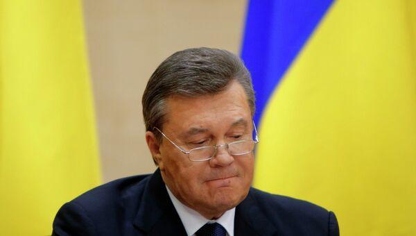 Виктор Янукович. Архивное фото