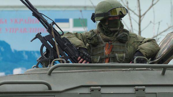 Военные в Севастополе. Архивное фото