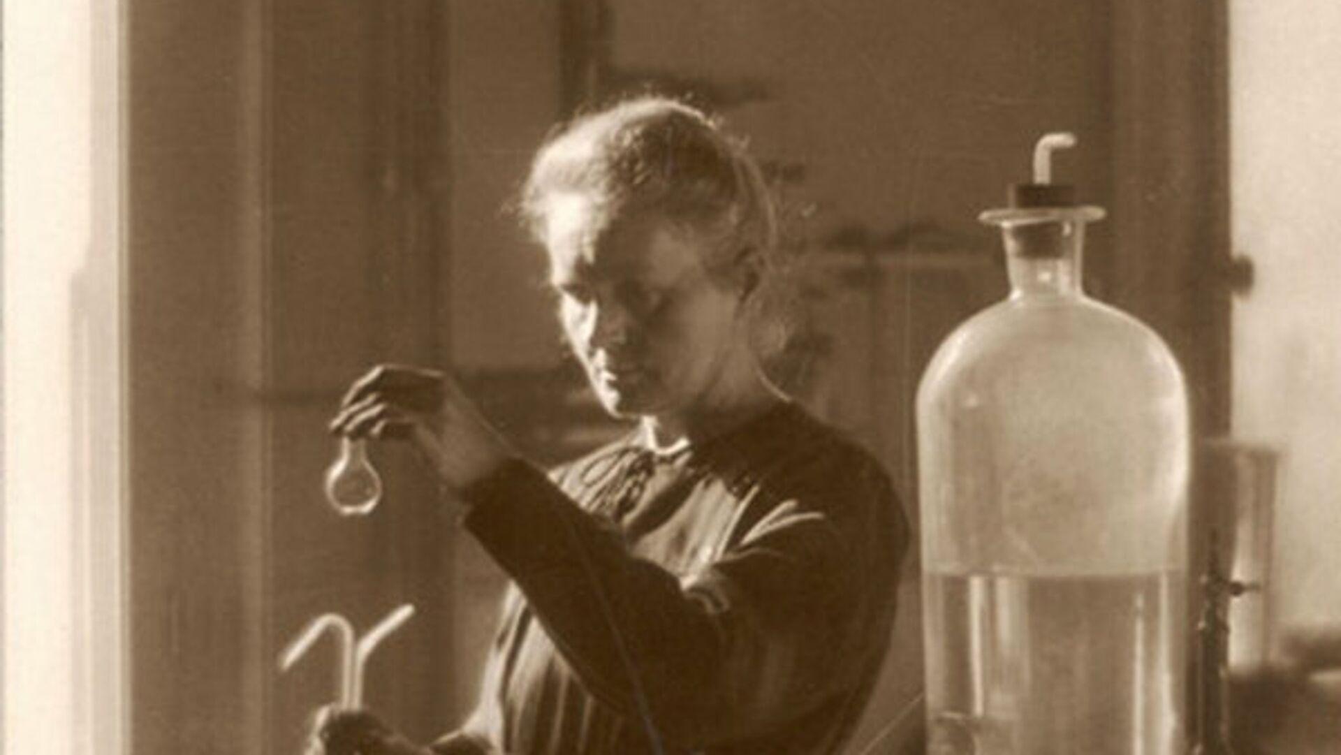 Польский учёный-экспериментатор, педагог, общественный деятель Мари Кюри - РИА Новости, 1920, 07.11.2020
