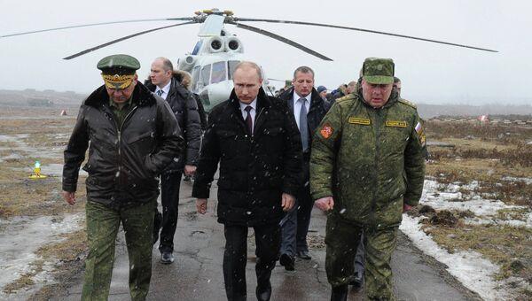 Рабочая поездка Владимира Путина в Ленинградскую область. Фото с места события