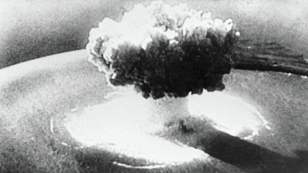 Ядерный взрыв, архивное фото