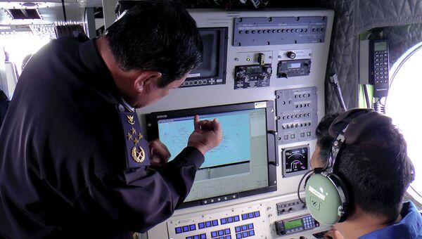 Поиски пропавшего малазийского самолета в Южно-Китайском море. Фото с места события