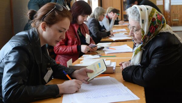 Референдум о статусе Крыма в Симферополе