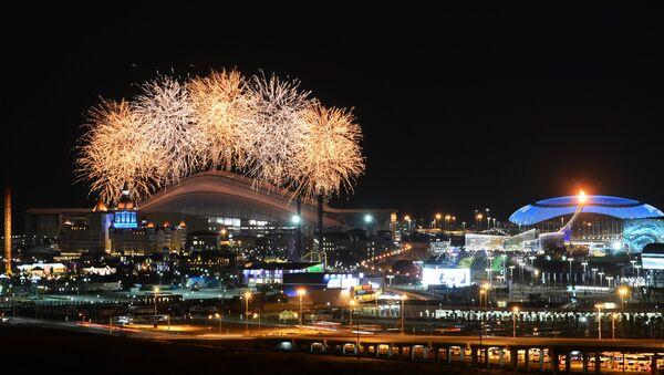 Церемония закрытия XI зимних Паралимпийских игр в Сочи
