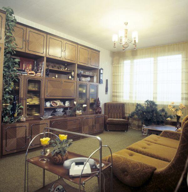 Интерьер одной из московских квартир