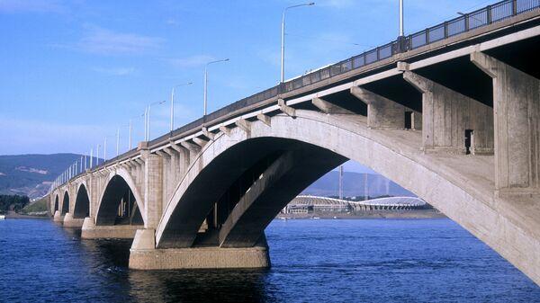 Коммунальный мост через Енисей, Красноярск