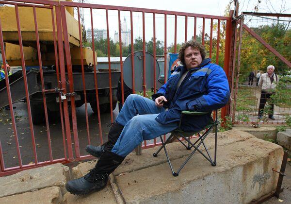 Бизнесмен Сергей Полонский объявил голодовку из-за рейдерского захвата ЖК Кутузовская миля