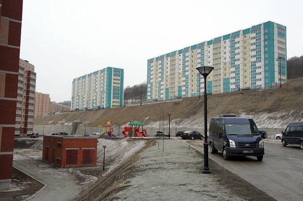 Микрорайон Снеговая Падь для увольняемых в запас военнослужащих флота и Восточного военного округа. Владивосток
