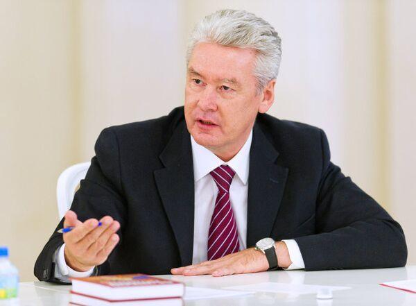 Мэр Москвы Сергей Собянин встретился с ректорами ведущих московских вузов