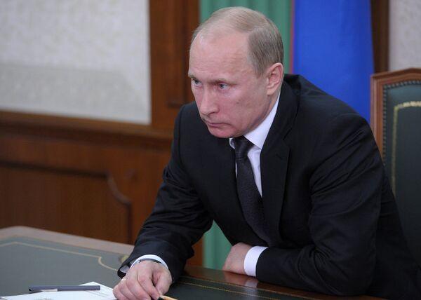 Премьер-министр РФ Владимир Путин провел селекторное совещание