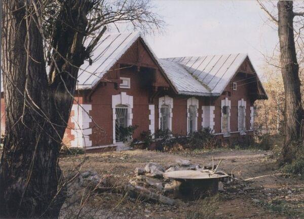 Путевая казарма МОЖД, снесена в 2012 г