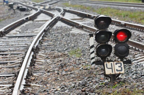 Железнодорожный светофор