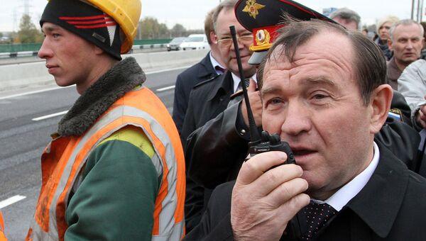 Путепровод на 24-м километре Ленинградского шоссе открылся после ремонта