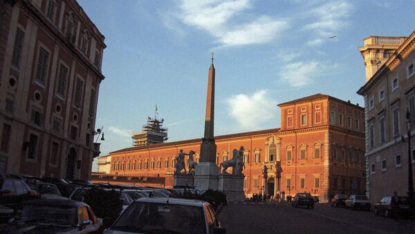 Квиринальский дворец. Архивное фото