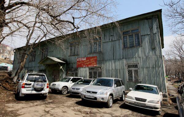Один из корпусов ВГУЭС во Владивостоке