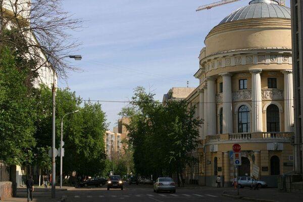 Улица в районе Хамовники