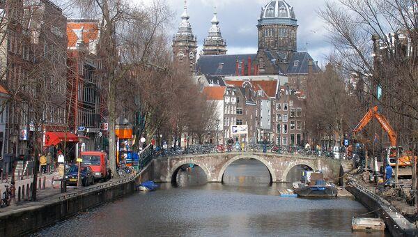 Старый центр Амстердама
