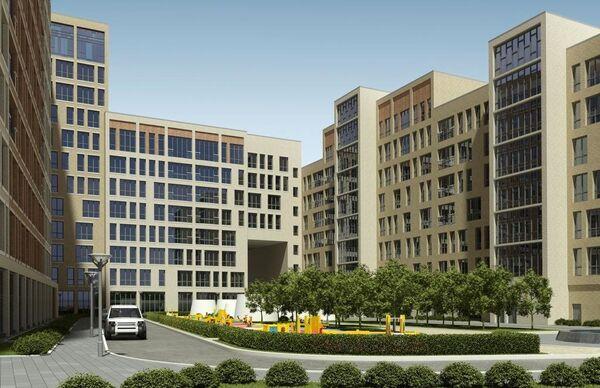 Жилой комплекс компании Донстрой Barrin House в Москве