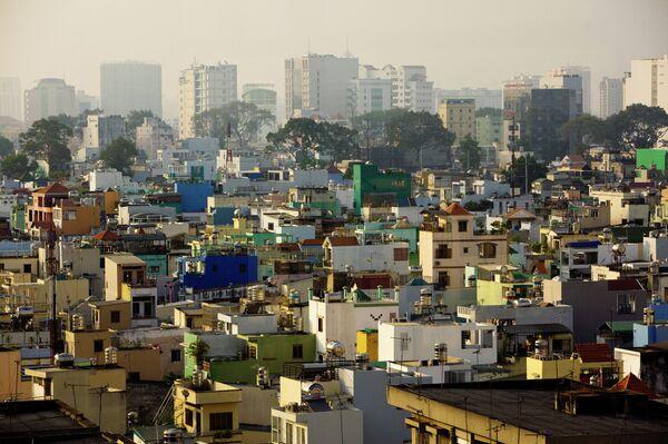 Вид на город Хошимин