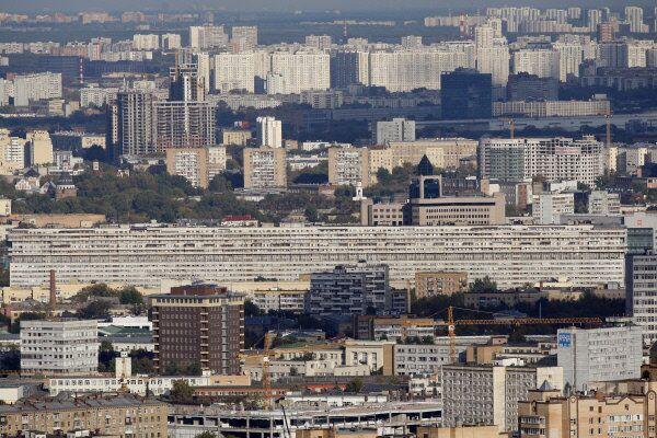 Дом-корабль на Большой Тульской улице в Москве