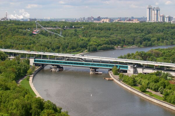 Вид на Москву с верхней точки