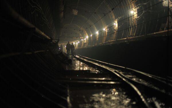 Строительство станции метро  Петровско-Разумовская II