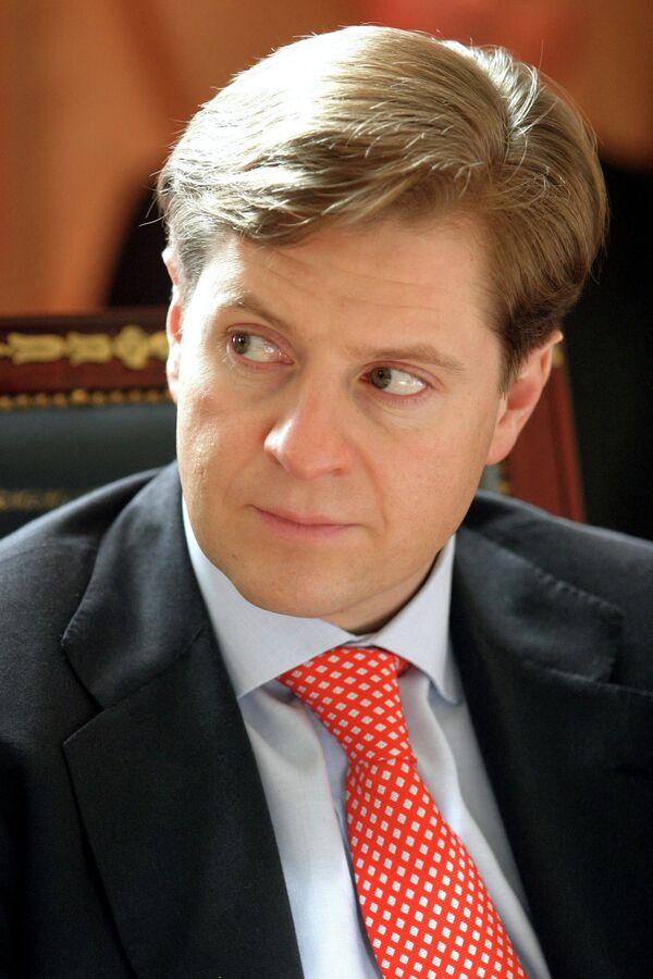 Президент Банка Москвы А.Бородин