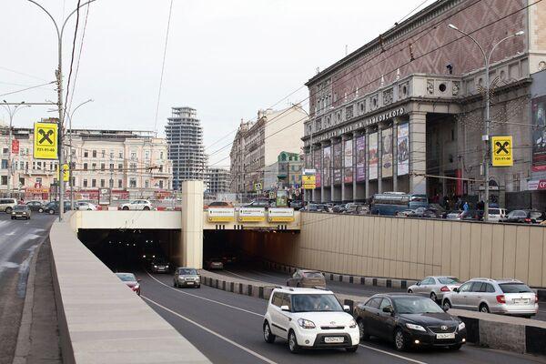 Панорама с бизнес-центром Оружейный в Москве