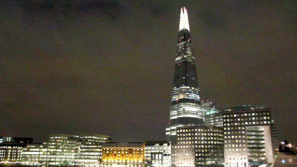 Лондон, небоскреб Shard