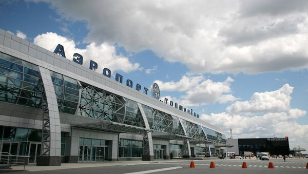 Аэропорт Толмачево. Архивное фото