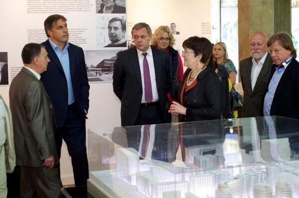 Презентация проекта Садовые кварталы компаний Интеко на выставке АРХ Москва NEXT